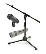 Microphones, Stands & Accessories