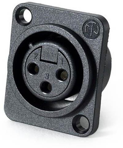 Neutrik chassis mount xlr