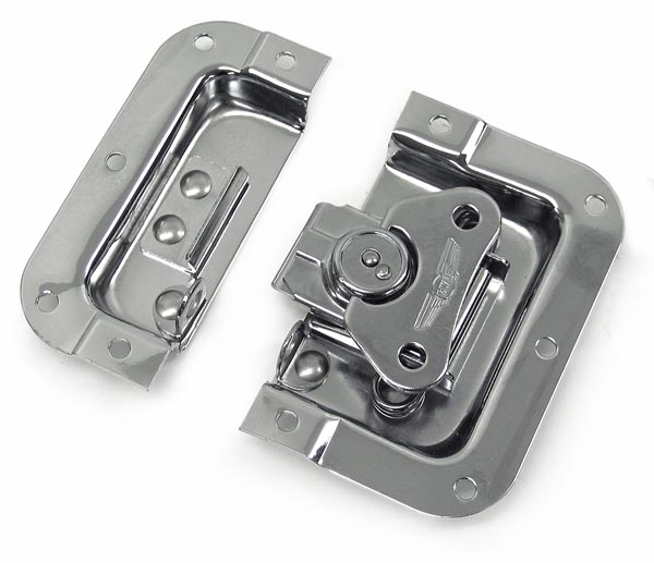 Elt Small Medium And Large Size Recessed Butterfly Latches