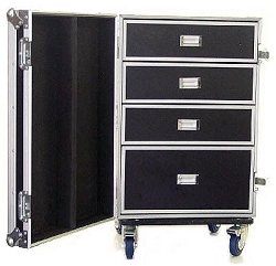 DR002H | Road Case Style 4 Drawer Tool Box