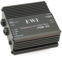 FDB-101 | One Channel Passive Direct Input Box