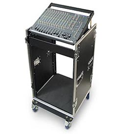 CU Series Mixer-Amp Combo Cases