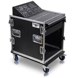 CU-P-22 Series Mixer-Amp Combo Cases with 22
