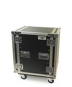 RU Series Amp Rack Cases with Casters