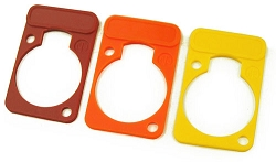 DSS | Neutrik Colored Label Plates for