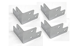 DVR-BRACKET SET| Set of 4 Case Corner Brackets $2.00