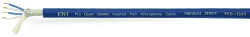 PCD-1565-BLU | Blue Pro Quad Microphone Cable | 4 Conductor | Braided Shield
