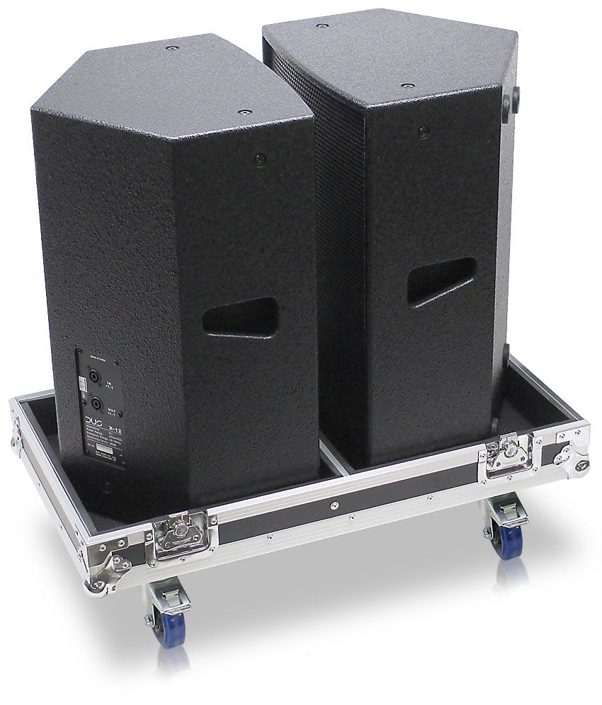 Dus X12 Road Case Suitable For Two Dus X 12 Speakers