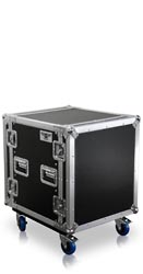 R12U | 12 Space Heavy Duty Amplifier Rack Case with Casters