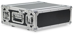 A2UE-10 | 2 Space, Heavy Duty, 2 Lid, Anti-Shock, Rack Case with 10