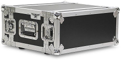 A3UE-10 | 3 Space, Heavy Duty, 2 Lid, Anti-Shock, Rack Case with 10
