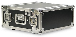 A3UE-14 | 3 Space, Heavy Duty, 2 Lid, Anti-Shock, Rack Case with 14
