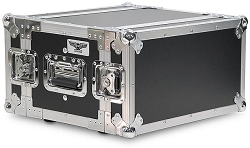 A4UE-10 | 4 Space, Heavy Duty, 2 Lid, Anti-Shock, Rack Case with 10