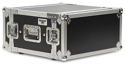 A4UE-14 | 4 Space, Heavy Duty, 2 Lid, Anti-Shock, Rack Case with 14