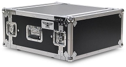 A4UE | 4 Space, Heavy Duty, 2 Lid, Anti-Shock, Rack Case with 18