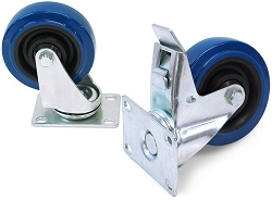 BBT | Four Inch Wheel Swivel Casters, available with or without brake