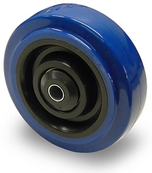 BBT-W | Four Inch Blue Caster Wheel