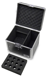 M012C | Microphone Case for 12 Microphones + D.I. Compartment