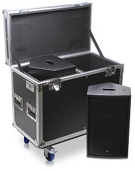 DUS-X10-1 | Road Case Suitable for two DUS X-10 Speakers or Similar Sized Cabinets