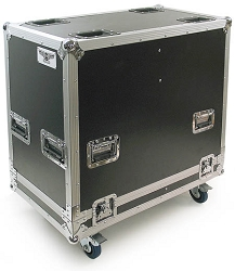 HPR-1221DC-4 | Road Case Suitable for two QSC HPR122i Speakers