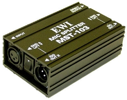MST-103 | Single Channel XLR Splitter
