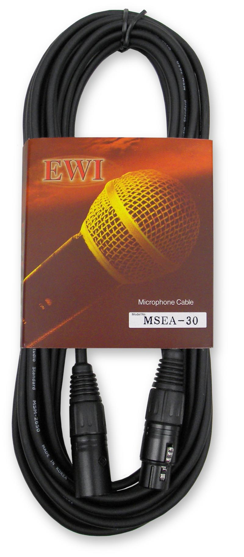 Msea  U0026quot Slimline U0026quot  Xlr Microphone Cable