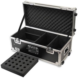 M040A-30MM | Heavy Duty 25 Mic capacity Road Case with 2 DI Compartments