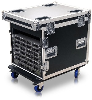 RT-006DC | Medium Size General Purpose Road Trunk with rack rails on one end