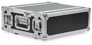 "A2UE-10 | 2 Space, Heavy Duty, 2 Lid, Anti-Shock, Rack Case with 10"" Rack Depth"