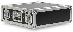 "A2UE-14 | 2 Space, Heavy Duty, 2 Lid, Anti-Shock, Rack Case with 14"" Rack Depth"