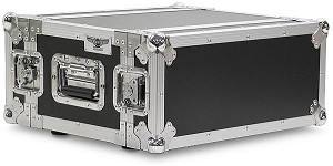 "A3UE-10 | 3 Space, Heavy Duty, 2 Lid, Anti-Shock, Rack Case with 10"" Rack Depth"