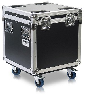 C004 | Small Cube Style Road Trunk with casters