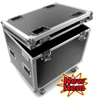 "C006DC-24D | ""Deeper"" Medium Sized General Purpose Road Trunk with casters"