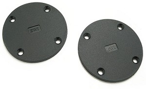 "RD-100 | Round ""G"" Series Rack Panel Hole Cover"