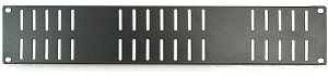 RPUV | Vented Rack Panel available in 1U, 2U, and 3U versions