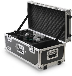 M040-30MM | Heavy Duty 40 Mic capacity Road Case with DI Compartment