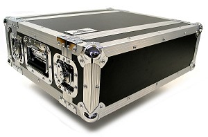 "R3UE-10 | 3 space x 10"" rack depth 2 Lid Effects Rack Case"