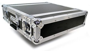 "R2UE-12 | 2 space x 12"" rack depth 2 Lid Effects Rack Case"