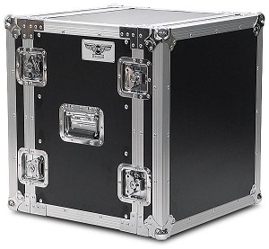"R12UE-14 | 12 space x 14"" rack depth 2 Lid Effects or Amp Rack Case"