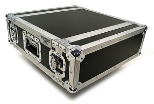 "R3UE-14 | 3 space x 14"" rack depth 2 Lid Effects Rack Case"