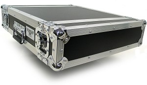 "R2UE-16 | 2 space x 16"" rack depth 2 Lid Effects or Amp Rack Case"