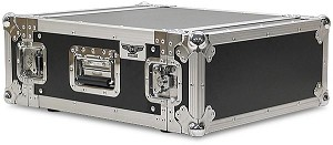 "R4UE-16 | 4 space x 16"" rack depth 2 Lid Effects or Amp Rack Case"