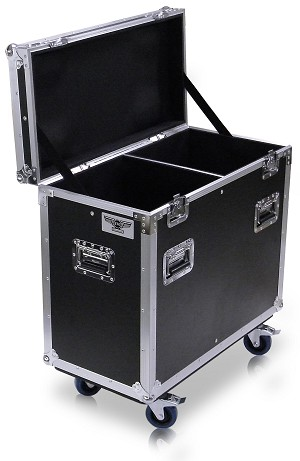 "QSC-K12-DI | ""Drop In"" Road Case Suitable for two QSC K12 Speakers"