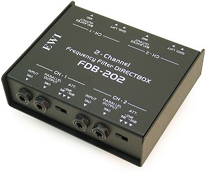 FDB-202 | Two Channel Passive Direct Input Box