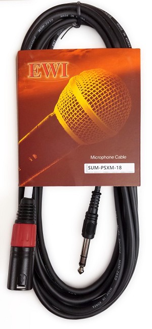 "SUM-PSXM | Stereo to Mono Summing Cable 1/4"" Male TRS to Male XLR"