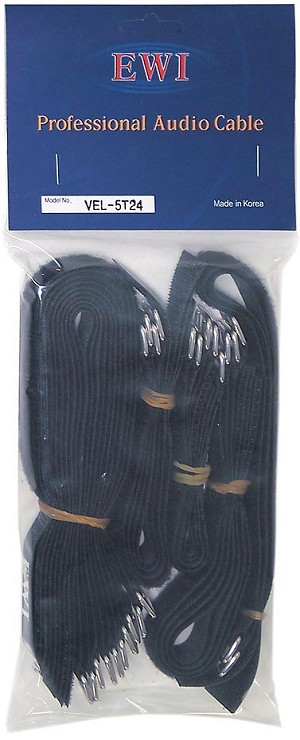 VEL-5T24 | Velcro Cable Strap Assortment