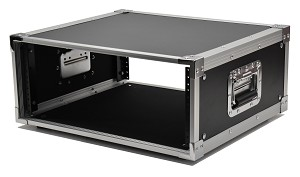 "R4UEF-16 | 4 space x 16"" rack depth studio rack"